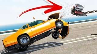 Can You RIP the ENGINE out of a Car In BeamNG Drive? - BeamNG Drive CHALLENGE