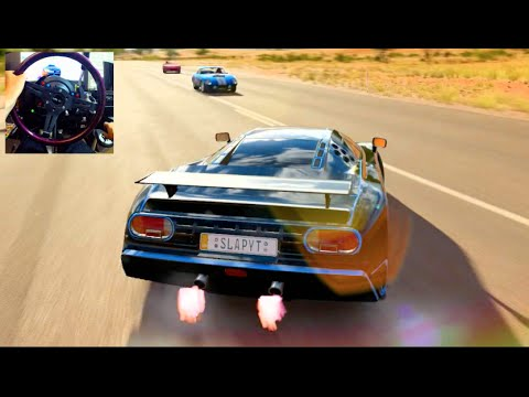 Forza Horizon 3 GoPro 284mph Top Speed Challenge PT2 Bugatti EB110