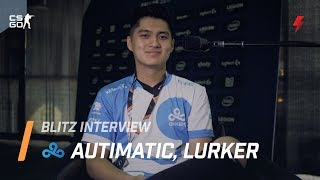 """C9 Autimatic on Stewie2K: """"He understands the game intuitively"""""""