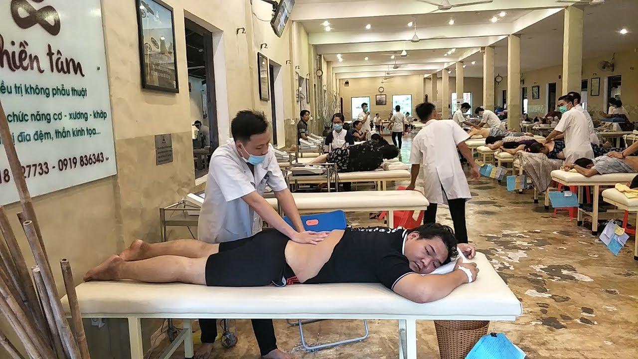 Điều trị thoát vị đĩa đệm cột sống đa tầng rất nặng cho bệnh nhân Nguyễn Ngọc Minh Phương