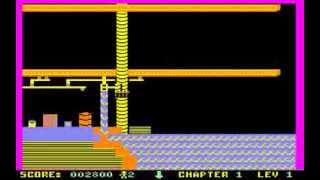 C64 Game - Whistler's Brother