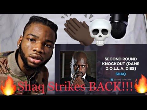 SHAQ CLAPS BACK!! Shaq- Second Round Knockout (Damian Lillard Diss) (Audio) Reaction