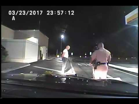 State Rep. Cary Pigman's roadside sobriety test
