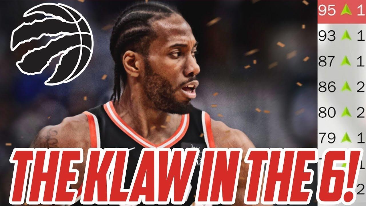 2966bf849 THE KLAW IN THE 6! Toronto Raptors Rebuild! NBA 2K18 - YouTube