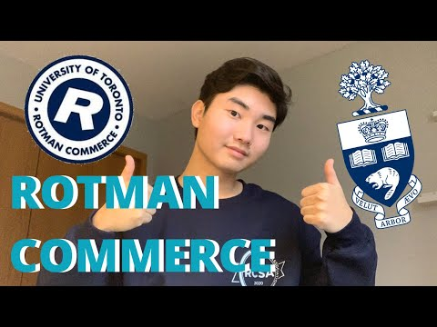 BEST BUSINESS SCHOOL IN CANADA? | EVERYTHING YOU NEED TO KNOW ABOUT ROTMAN COMMERCE | U OF T