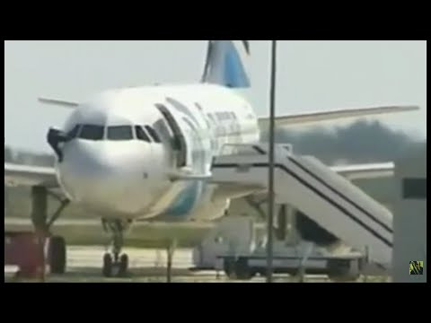 BREAKING: Man Jumps from Cockpit of Hijacked EgyptAir Flight In Cyprus