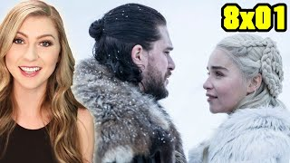 "Game of Thrones 8x01 RECAP & REVIEW - ""Winterfell"""