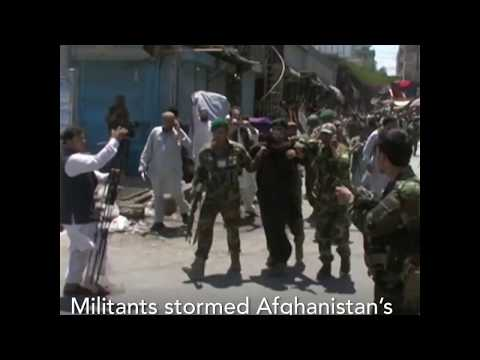 Militants Storm Afghanistan's National Broadcaster