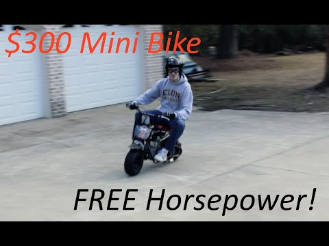 Cheap Mini Bike Mods! Pt. 1