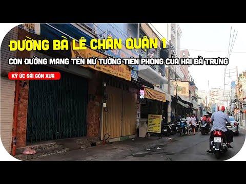 Đường Bà Lê Chân quận 1 - Con đường mang tên nữ tướng tiên phong của Hai Bà Trưng | Ký ức Sài Gòn