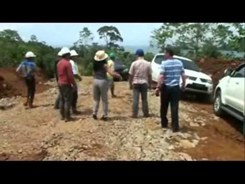Nickel Ore Mine pit