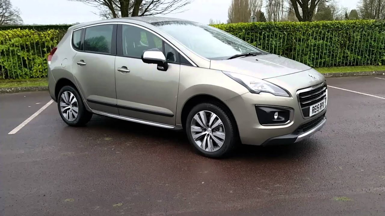 peugeot 3008 1.6hdi 115 fap active re15rpx - youtube