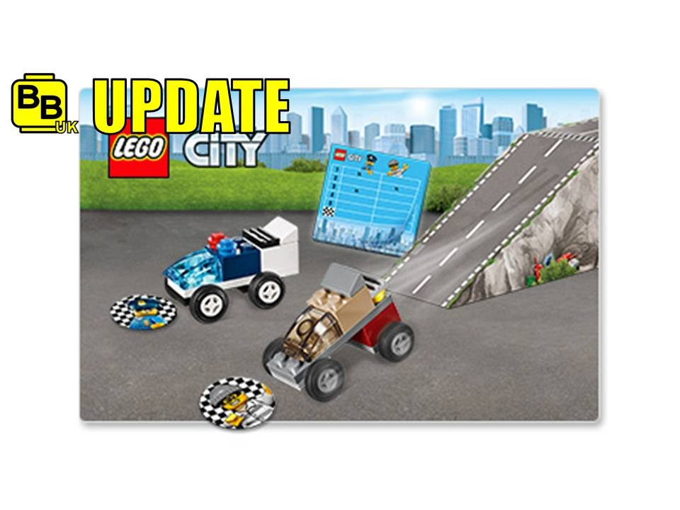 LEGO SHOP 2016 AUGUST CITY POLICE CHASE RACE 5004404 NEWS UPDATE ...