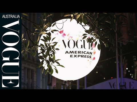 Inside Vogue American Express Fashion's Night Out Sydney 2017