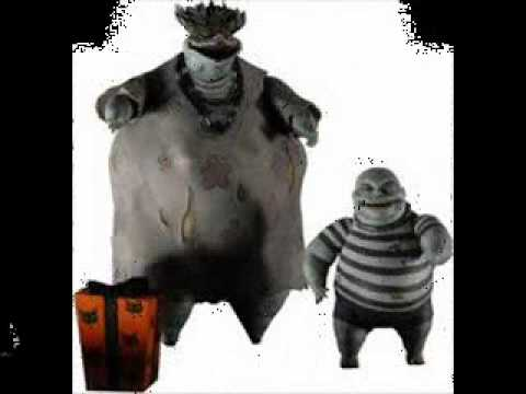 The Characters Of Tim Burtons The Nightmare Before