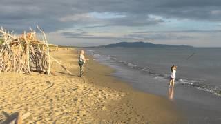 Le Marze Grosseto beach in Maremma Tuscany Italy