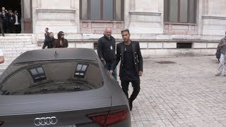 craziness around Neymar Jr s Car while leaving Balmain Fashion Show