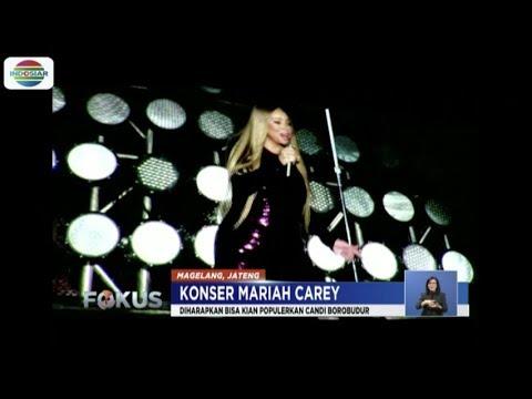 Nikmati Konser, Ribuan Penggemar Mariah Carey Padati Kawasan Candi Borobudur - Fokus Mp3