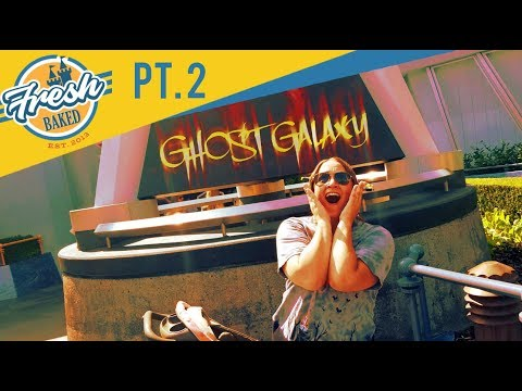 Ghost Galaxy ride and Crazy Halloween Treats | 09/08/18 pt 2