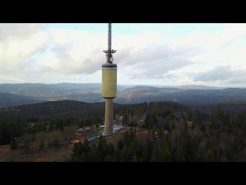 Mavic pro Tryvannstårnet 118 meter radio tower Norway