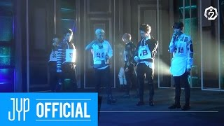 """GOT7 """"Hard Carry"""" First Broadcast Stage Behind Story"""