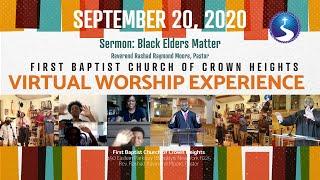 September 20, 2020: Sunday Morning Virtual Worship Experience
