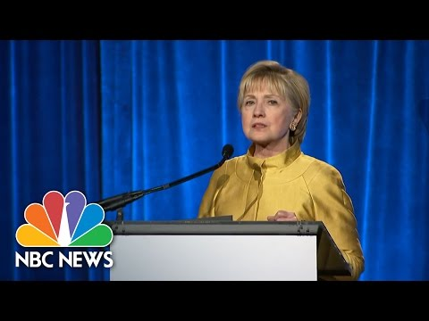 Hillary Clinton: 'Gay Rights Are Human Rights' | NBC News