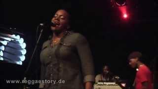 Etana - 4/4 - I´m Not Afraid + Rastaman Chant + ... - 19.02.2015 - YAAM Berlin