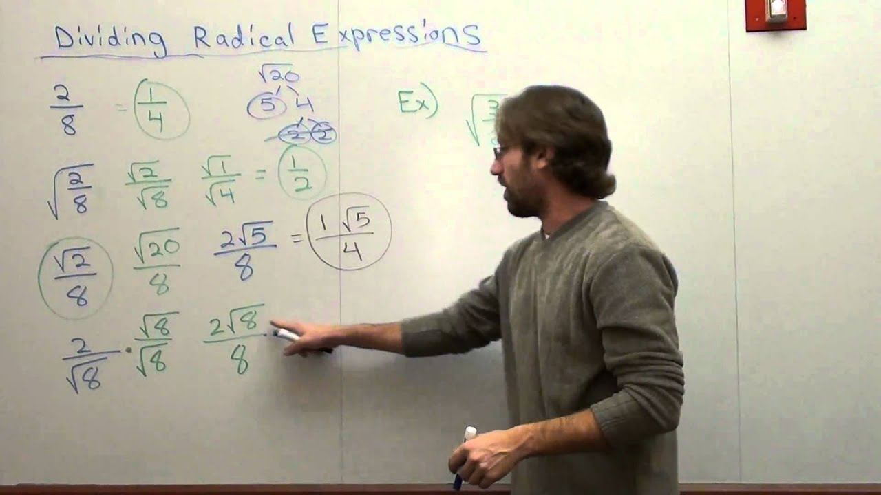 Multiplying And Dividing Radicals With Variables more – Multiplication and Division of Radicals Worksheets