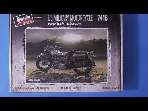 Sprue Review Thunder Models 1/35 US Military Motorcycle (Indian)