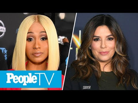 Cardi B Co-Hosts 'The Tonight Show', Eva Longoria Gets A Little Baby Name Help From Ellen | PeopleTV