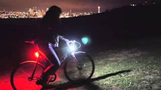 Orfos Bike Light on Kickstarter: The Brightest Safest 360° Bike Light Available