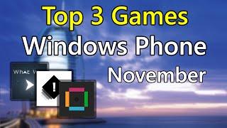 Download lagu Top 3 exclusive games for Windows Phone [VOL.1]