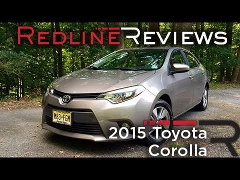 2015 toyota corolla read owner and expert reviews prices specs. Black Bedroom Furniture Sets. Home Design Ideas