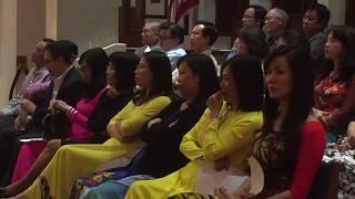 April 21, 2018 TERESA CHOIR Ca đoàn Teresa Hài Đồng Giêsu  Saint Cecilia Catholic Tustin