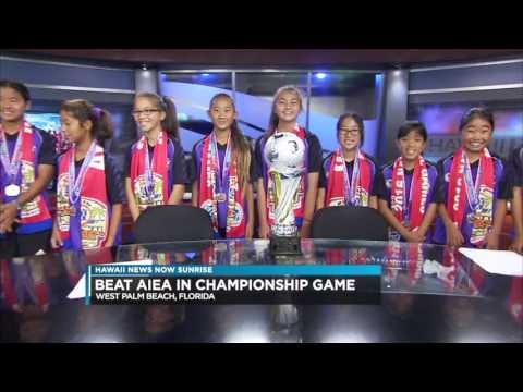 "AYSO National Soccer Champs - Pearl City AYSO U-12 Girls ""Shaka"""