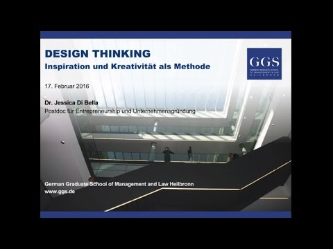 Webinar: Design Thinking - Inspiration und Kreativität als Methode