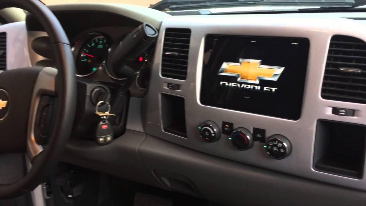2017 Chevrolet Silverado Ipad Mini Install Fcmc Fabrications You