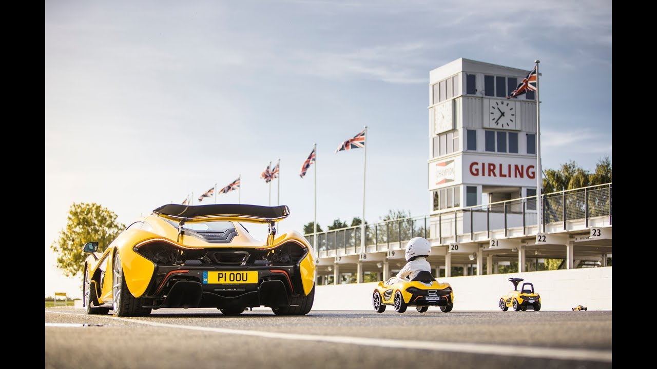 The new McLaren P1™: Embracing alternative fuels