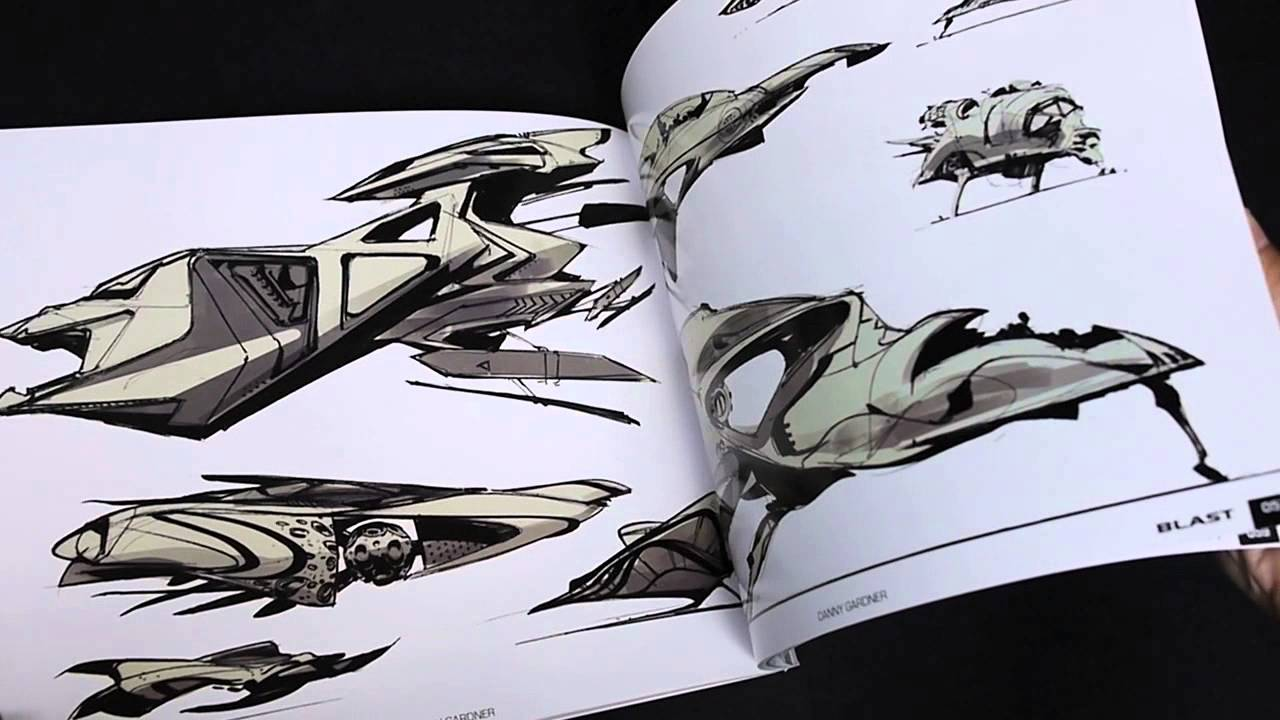 amazoncom blast spaceship sketches and renderings - 1280×720