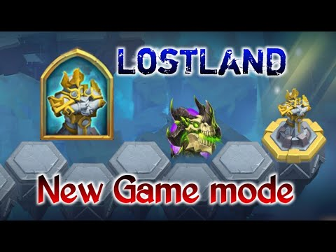 LostLand | New Game Mode | 3 Level Clear | Good Reward | Must Try | Castle Clash