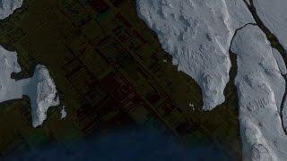 Google Anomaly 1 - Le Fond d'un Lac Français dissimule une Terre Virtuelle ..