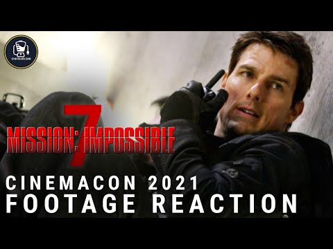 'Mission: Impossible 7' First Footage Reaction