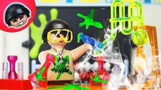 Playmobil Polizei Film - Karlchen wird Chemie Lehrer - Karlchen Knack #136