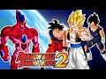 Dragon Ball Raging Blast 2 Goku Y Vegeta Gogeta VS Hatchiyack La Destruccion De la Tierra