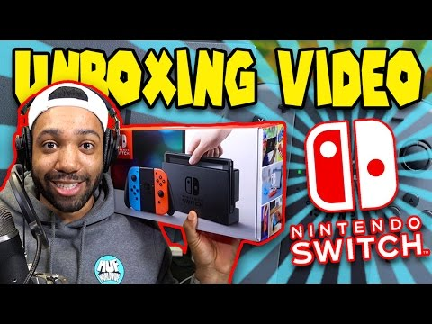 IT'S FINALLY HERE!!! NINTENDO SWITCH UNBOXING - [WORST UNBOXING EVER #64]