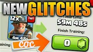 clash of clans glitch, coc cook army in 1 second without any use of gems,cook any troop in 1 sec,coc