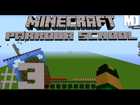 Let's Play Minecraft ADV Map Parkour School  [ eimal dr berg ufa ]  #3