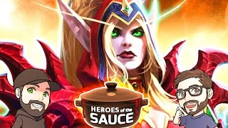Heroes of the Sauce | Mike & Dave of LiquorSauce | Heroes of the Storm Unranked Draft Gameplay