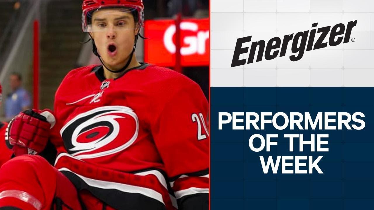 NHL Performers of the Week: Sebastian Aho puts up 5-spot